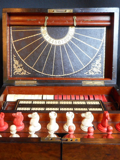 Walnut Games Compendium -mid 19th Century