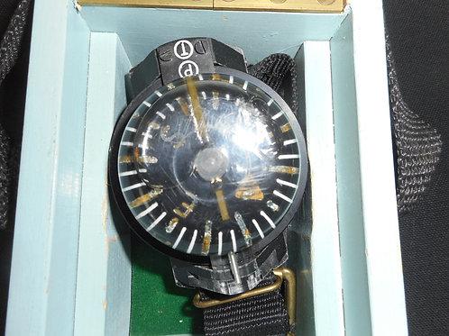 Vintage wrist worn diving compass