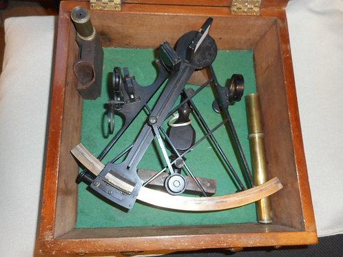 19th Century Vernier sextant, signed.