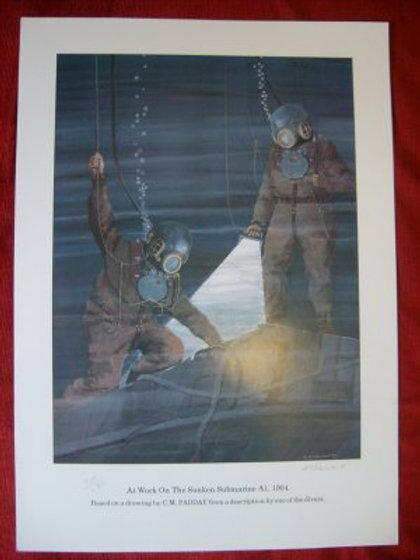 Diving Print