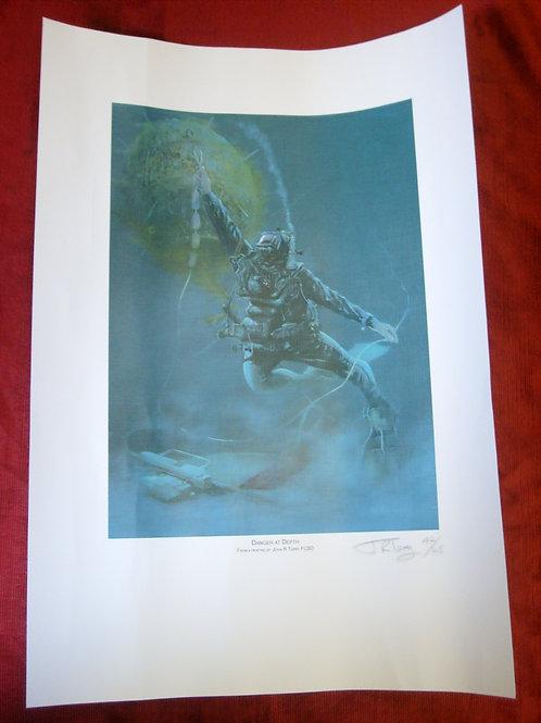 Vernon Diving print