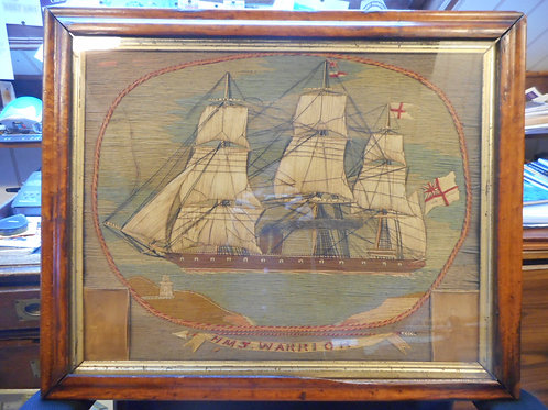 HMS Warrior woolwork