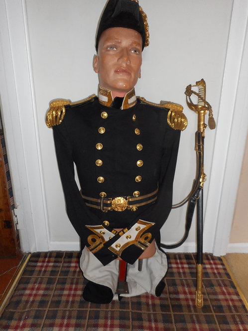 19th Century Lieutenants' uniform