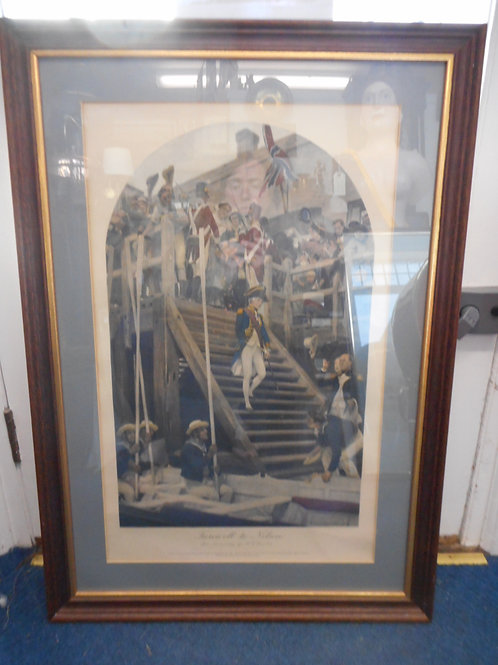 Print 'Farewell to Nelson'
