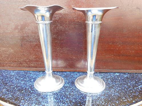 Cunard trumpet vases
