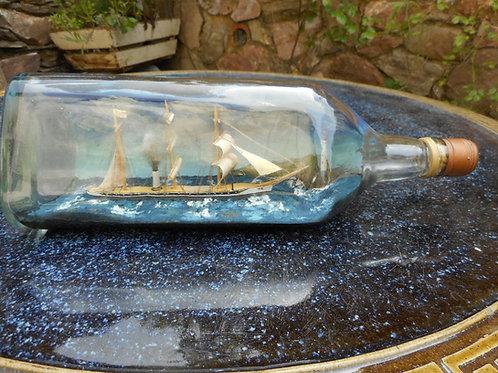 S.S ZETA ship in bottle