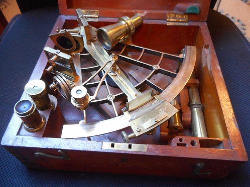 Vernier sextant by Ray circa 1870