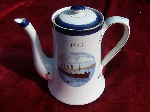 Titanic coffee pot