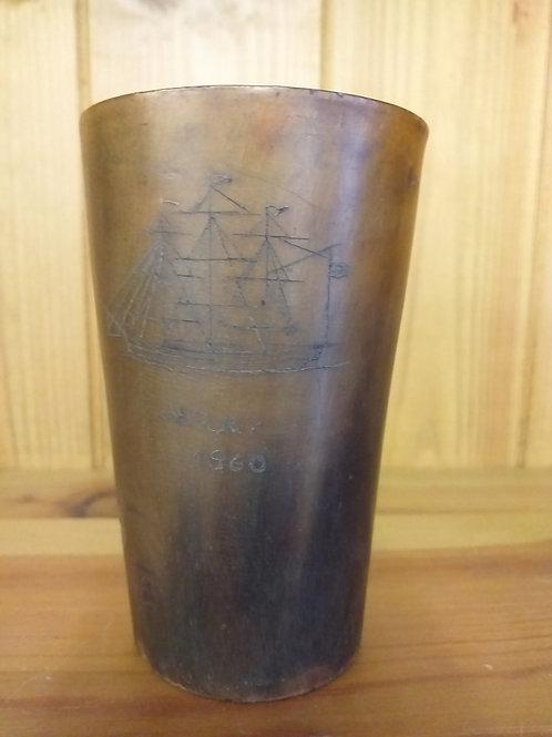 Horn beaker 'Mary 1860'