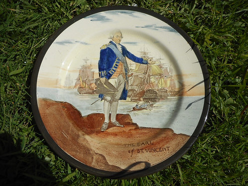 Earl of St Vincent Royal Doulton plate