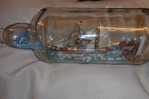 Ship in bottle - GERMANIC