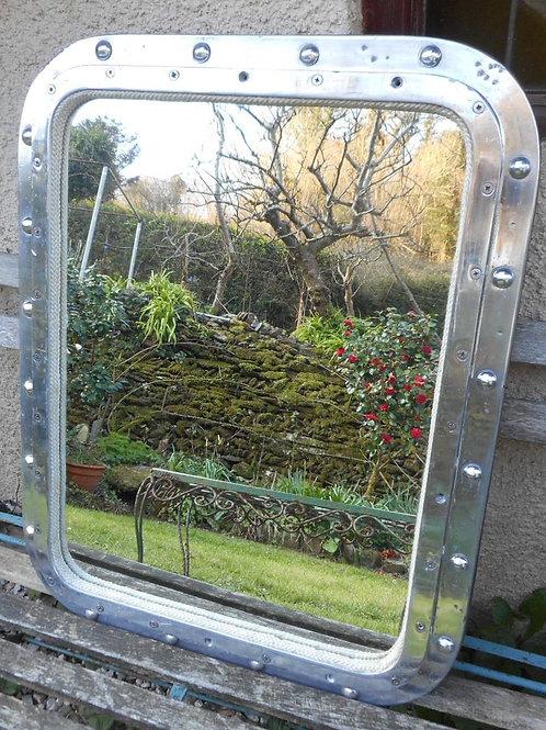 Aluminium ships window mirror
