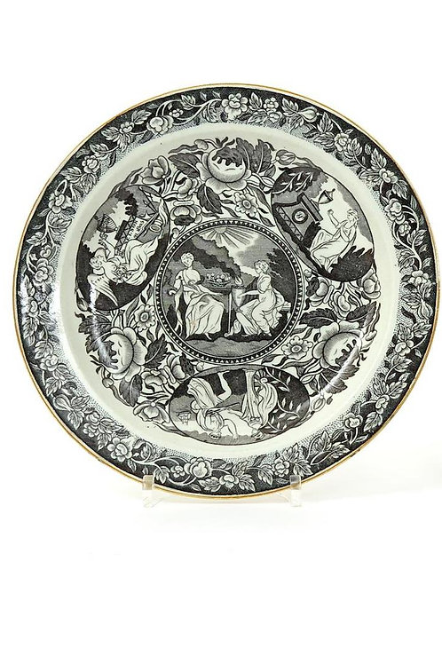 Nelson pearlware plate