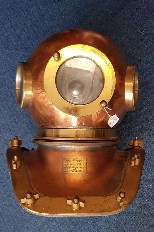 Russian diving helmet