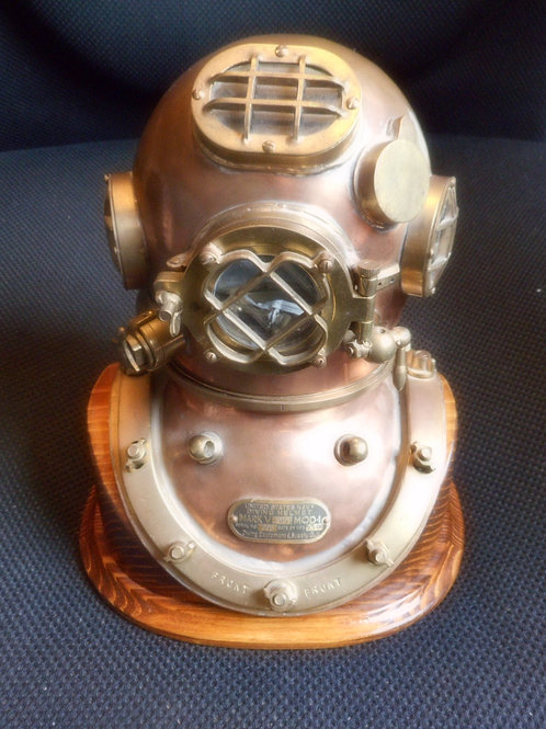 Miniature US Navy Mark V diving helmet