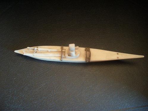 No.44 Whalebone Inuit Canoe