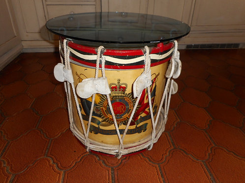 Royal Arms Service Corps drum