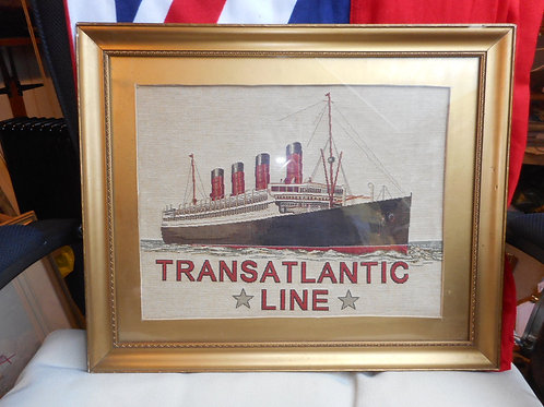 Transatlantic shipping stevengraph