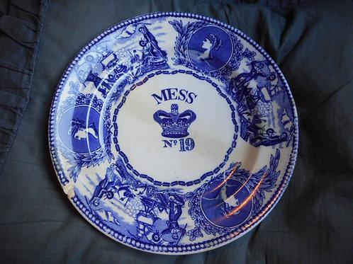 Queen Victoria Mess plate No.19