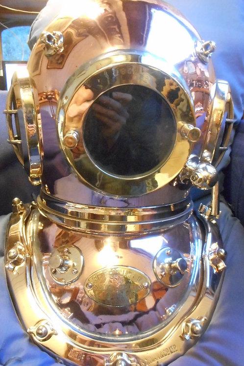 Siebe Gorman 12 bolt diving helmet
