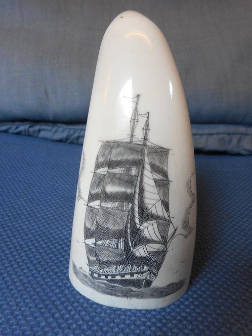 No.228 - Signed whaletooth - Ship