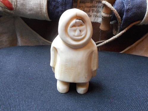 No.358 - Inuit scrimshaw carving