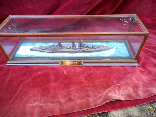 Scale model HMS Queen Mary