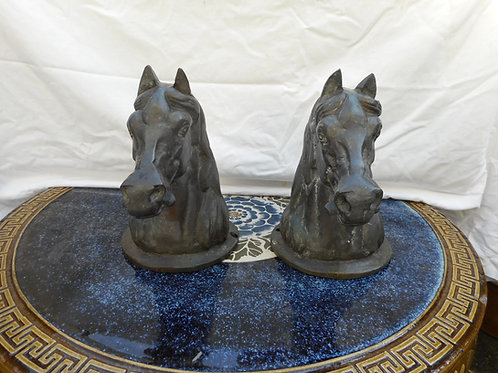 Bronze Horse busts