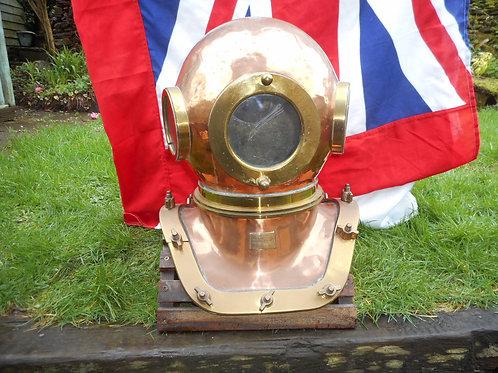 Russian 12 bolt diving helmet