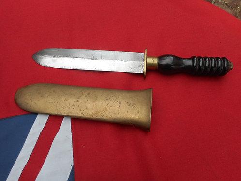 Siebe Heinke diving knife