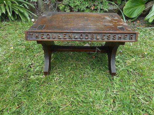 Oak Rum table
