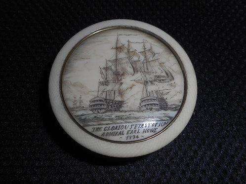 No.332 -Admiral Earl Howe - pill box