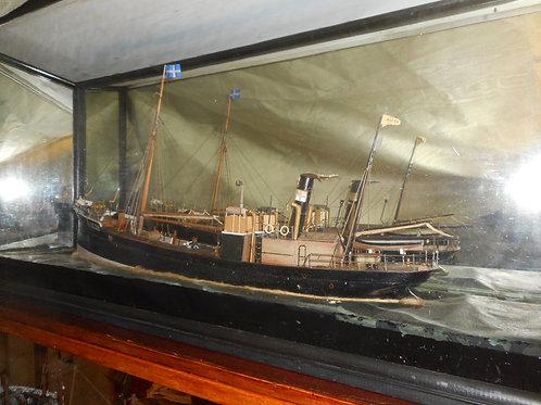 Diorama 'Boat Australia H.1328'
