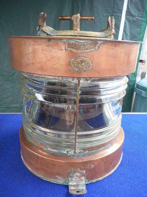 Brass ships masthead lantern