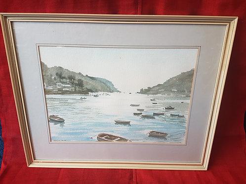Dartmouth watercolour
