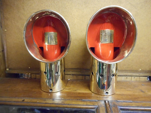Pair of lifeboat vents