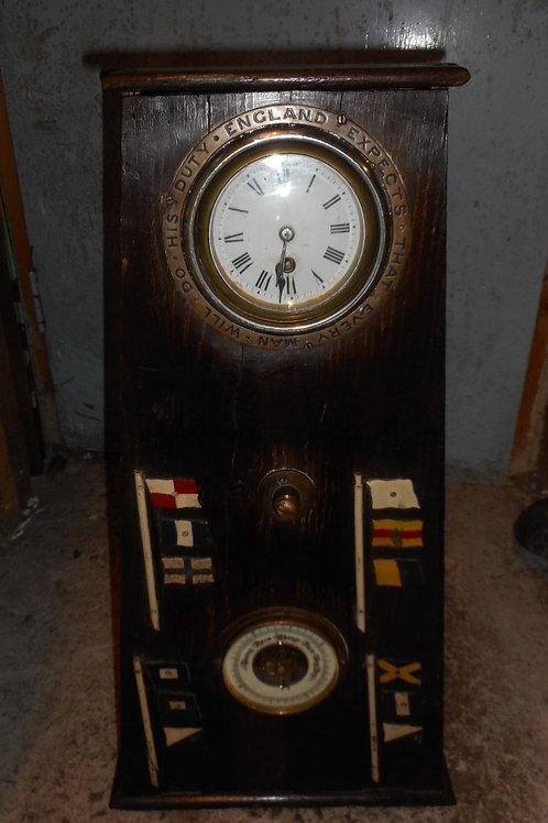 Vintage shipping donation box