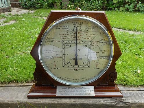 Art Deco Short and Mason barometer