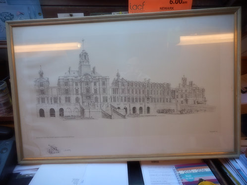 Brittania Royal Naval College print