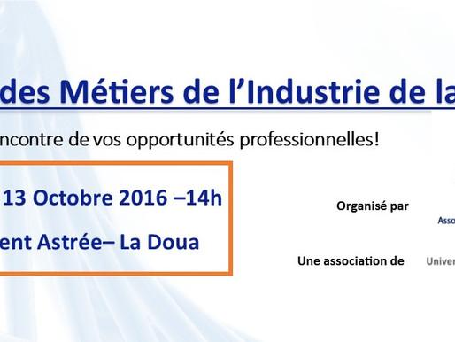 Forum des Métiers de l'Industrie de la Santé de l'AMIL