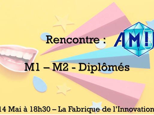 Rencontre M1-M2-Diplômés