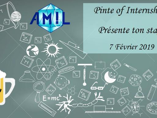 Pint of Internship : Présente ton Stage