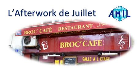 Afterwork de Juillet