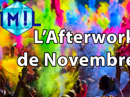 L'Afterwork de Novembre !