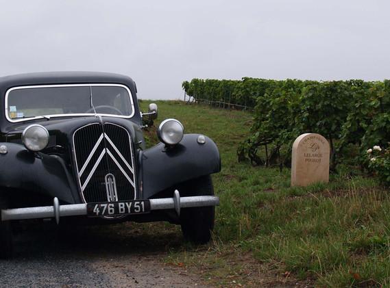 Citroen Traction Avant - Champagne Lelarge-Pugeot, Vrigny