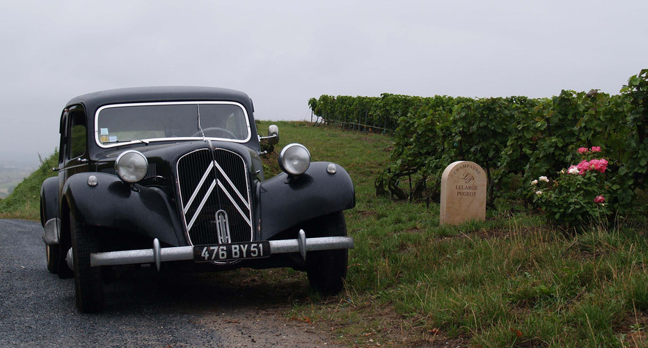 Citroen Traction Avant - Champagne Lelarge-Pugeot