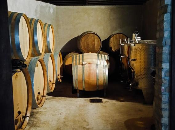 Champagne La Closerie - cellar