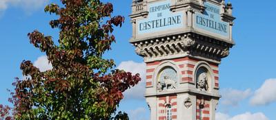 Champagne de Castellane tower