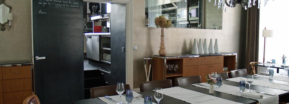 Les Avises - Restaurant and Kitchen - Avize