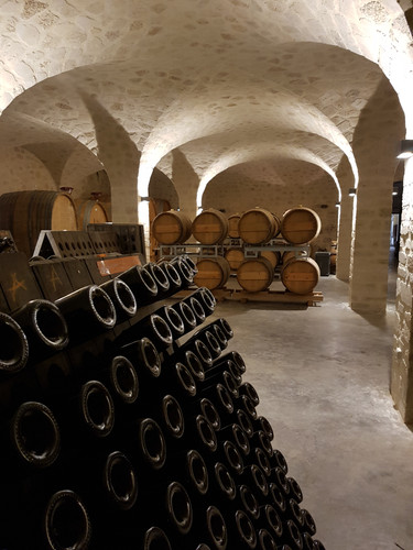 new cellar at Champagne Lelarge-Pugeot